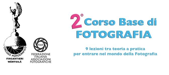 Aperte le iscrizioni al<br> 2° Corso Base di Fotografia