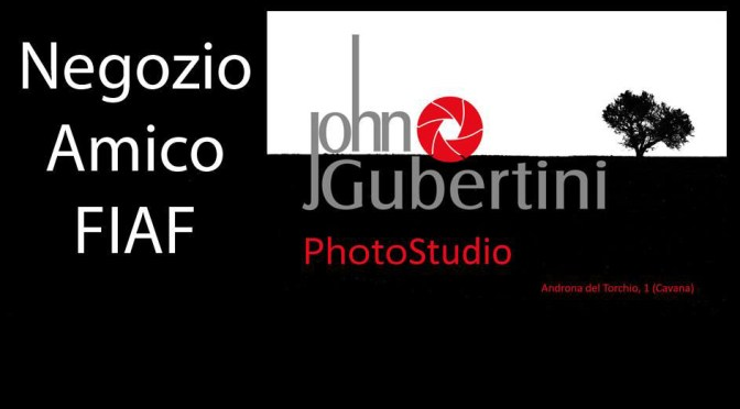 FIAF DAY al negozio JohnGubertiniPhotoStudio