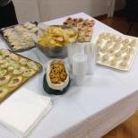 Il consueto buffet!