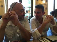 Antonio Manta e il presidente della FIAF Roberto Rossi