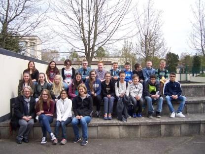 Besuch der High School auf der U.S. Airbase in Spangdahlem