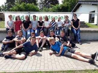 Gruppenbild der Klasse 7C