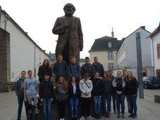 Besuch der Karl-Marx-Ausstellung in Trier