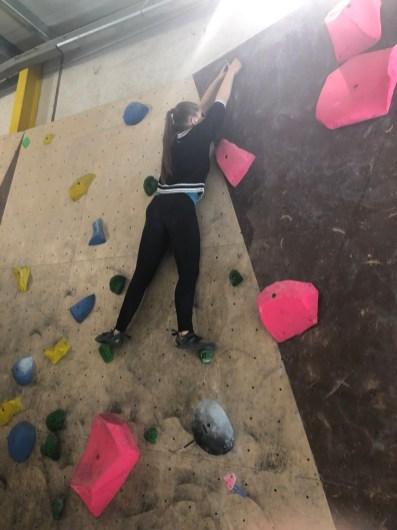 In der Boulderhalle Wittlich (MSS11)