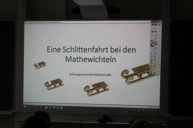 Schnupperstunde in Mathe