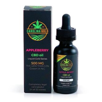 Carolina Gold CBD Oil 500mg Appleberry