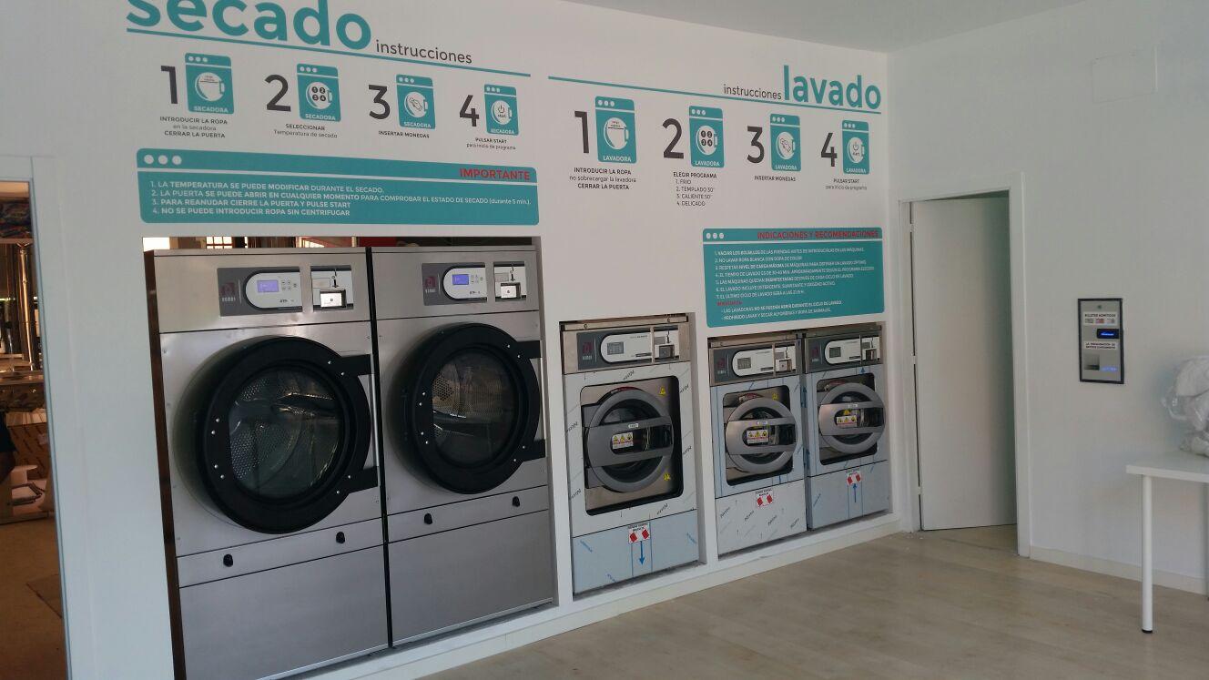 Lavandera Autoservicio  Cogaco Machine  Lavandera