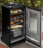 Electric food smoker