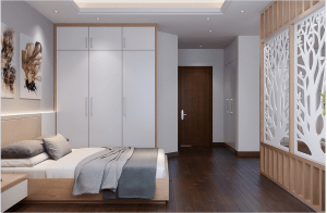 a bedroom with quaity air