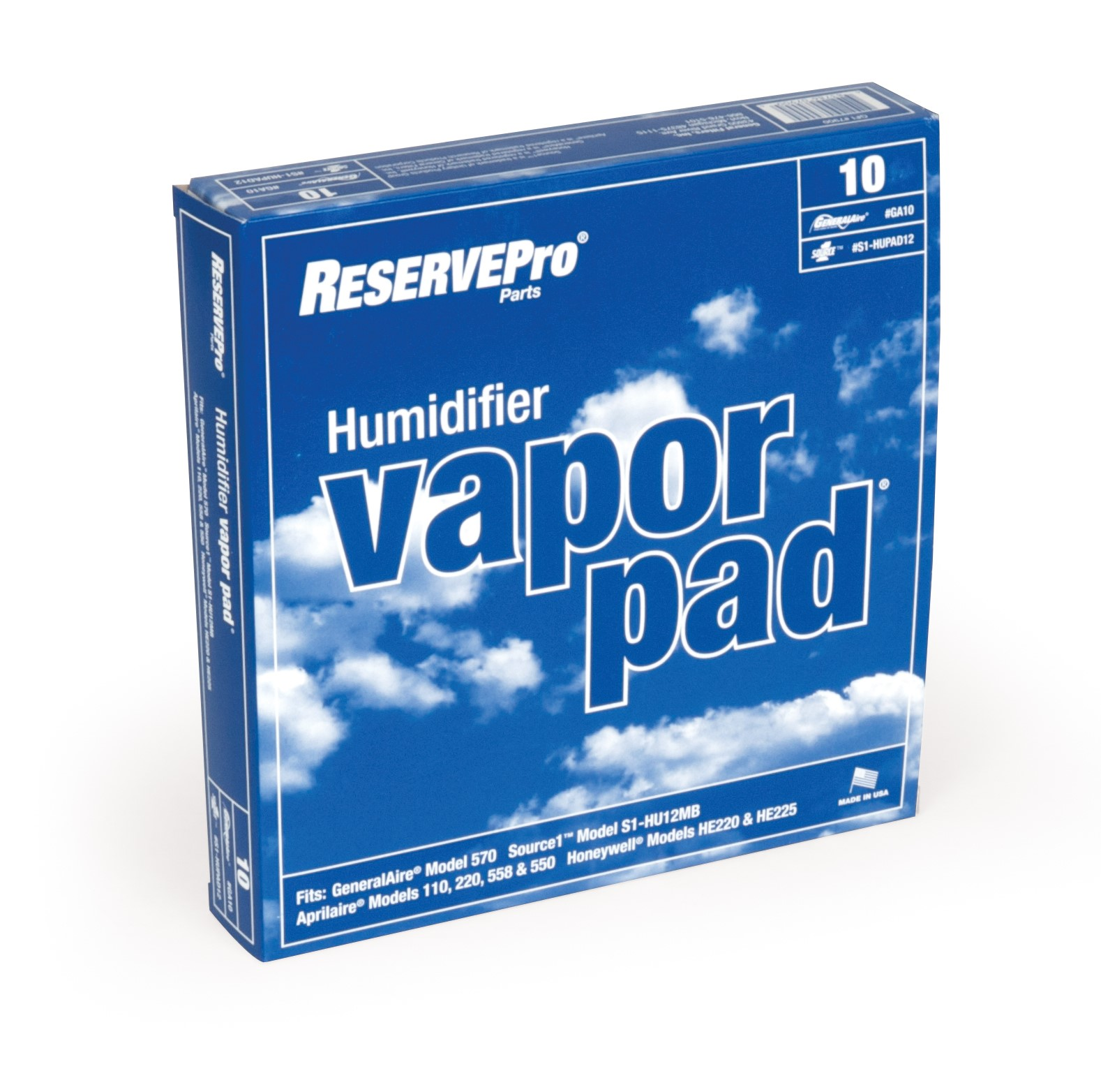 hight resolution of gf ga10 vapor pad jpg