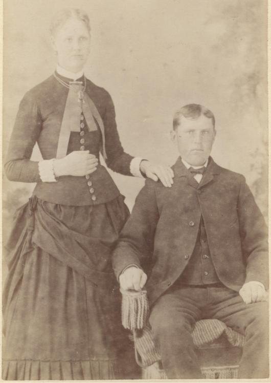 Amerikaåtervändarna Jöns och Hanna Nilsson Brösarp 2