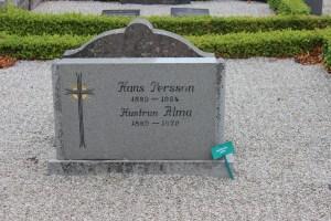 Hans Persson (1889-1964) och hustrun Alma Håkansdotter (1889-1979)