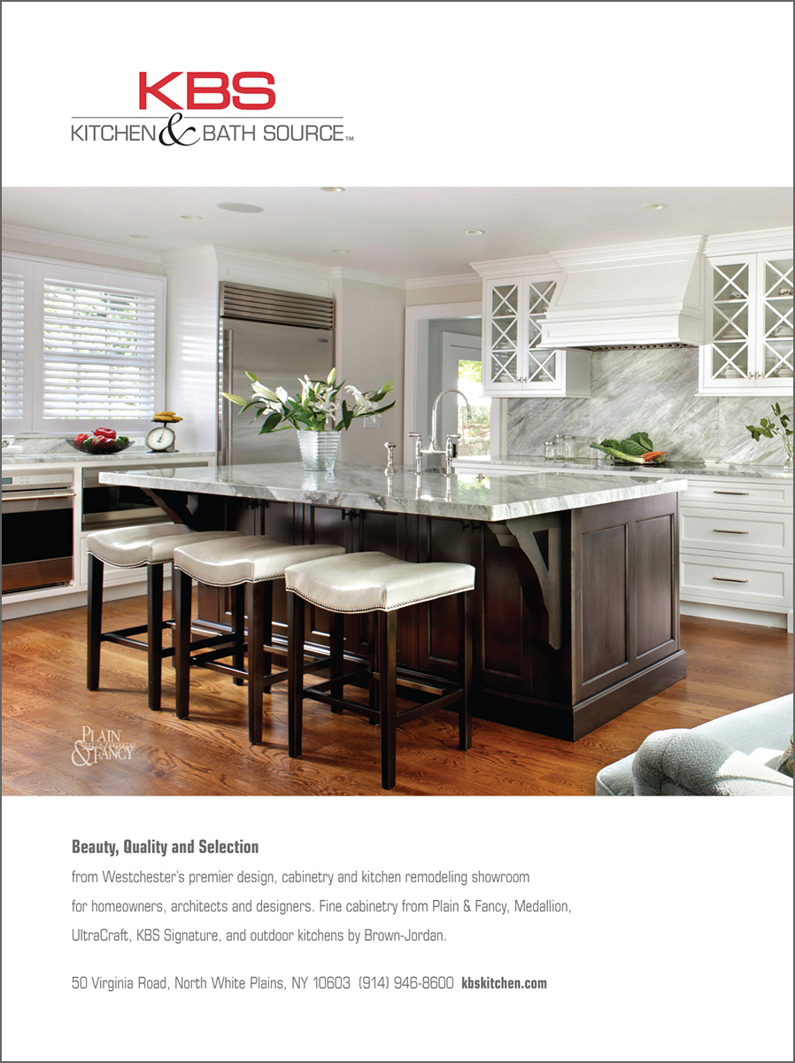 KBS/Kitchen and Bath Source Full Page Magazine Ad