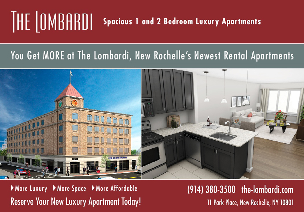 TheLombardi Rental Apartments - 1/2 Page Magazine Ad