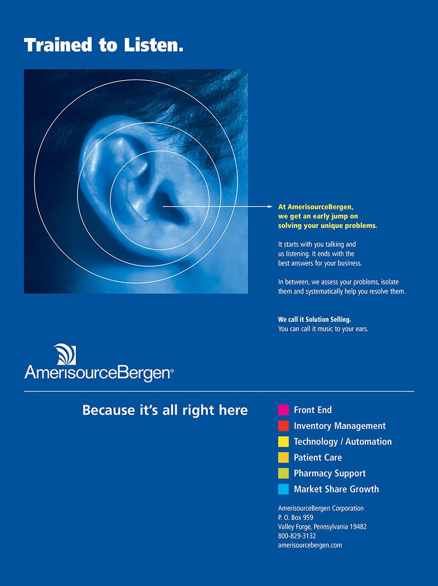 AmerisourceBergen Trade Campaign - Full Page Ad