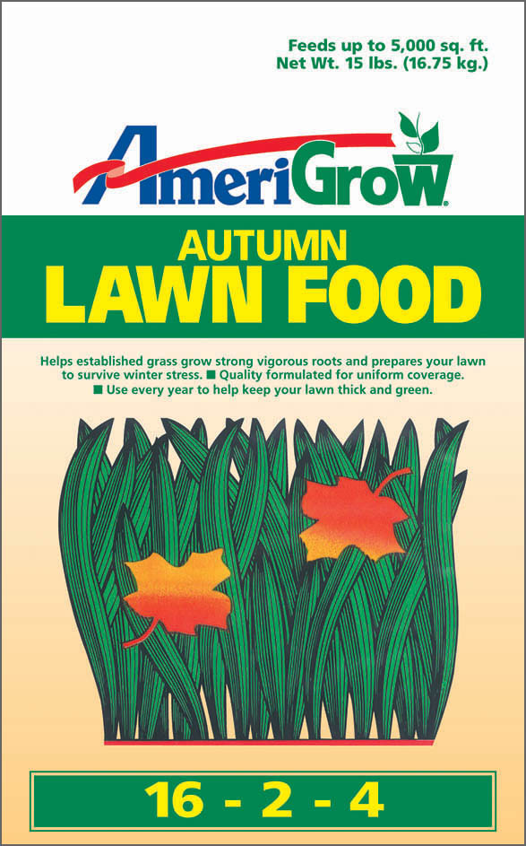 AmeriGrow Autumn Lawn Food - Package Design