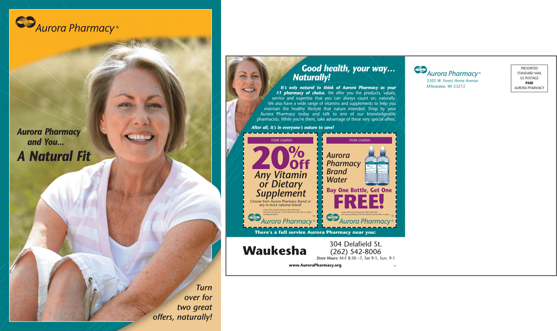 Aurora Pharmacy Post Card Campaign #4