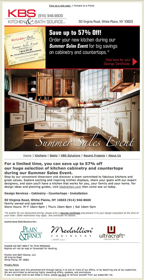 KBS/Kitchen and Bath Source - Email