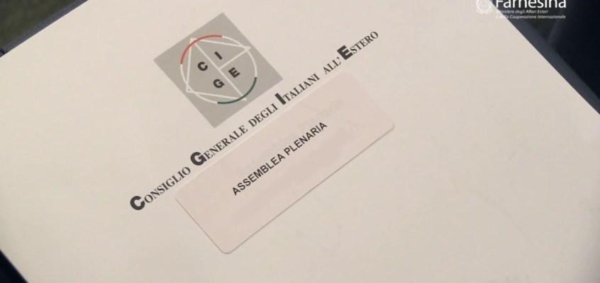 Convocazione 41.ma Assemblea Plenaria   del Consiglio Generale degli Italiani all'Estero