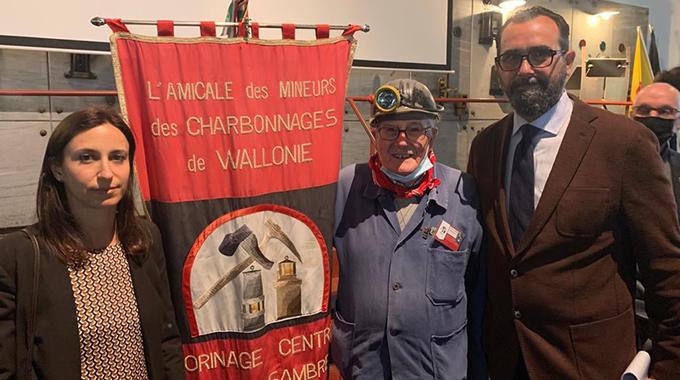 Uomini contro carbone, evento a Marcinelle