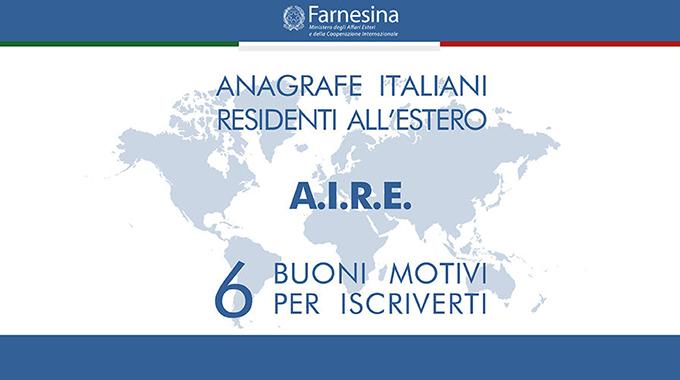 Anagrafe per i cittadini italiani residenti all'estero