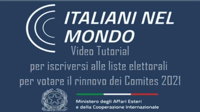 Elezioni Comites Video Tutorial