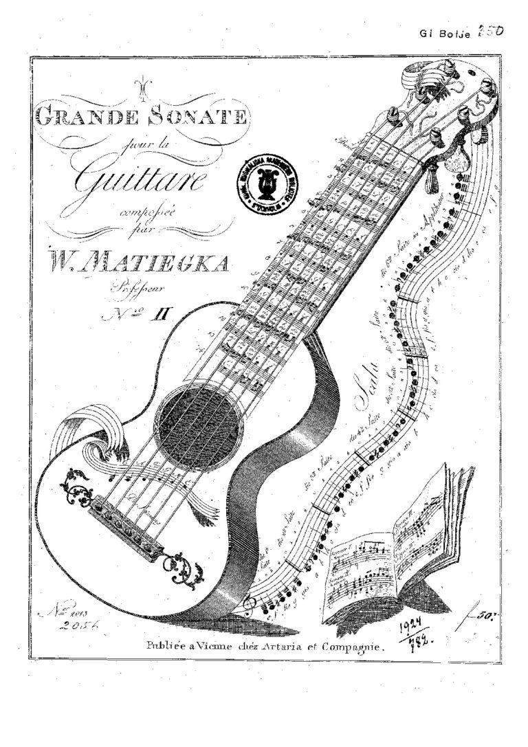 Matiegka. Wenzel Thomas Free sheet music scores (PDF