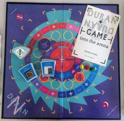 Duran Duran Into the Arena Board Game