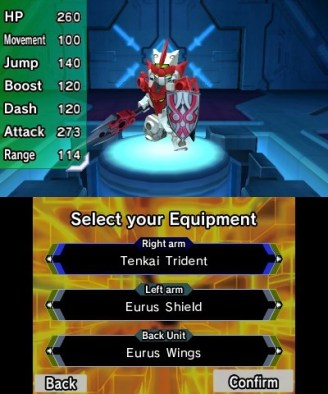 Tenkai Knights: Brave Battle (3DS) Review 3