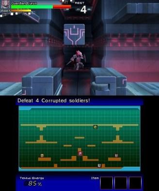 Tenkai Knights: Brave Battle (3DS) Review 1