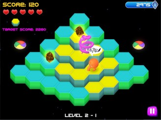 Q*Bert Rebooted (PS4) Review 4