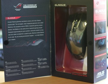 ASUS Gladius Mouse (Hardware) Review 1