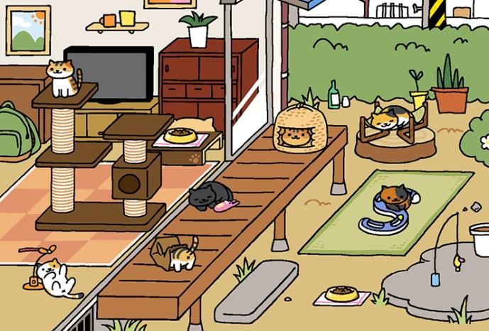 Neko Atsume: Why I'm the Office Cat Lady - 2015-07-13 13:30:53