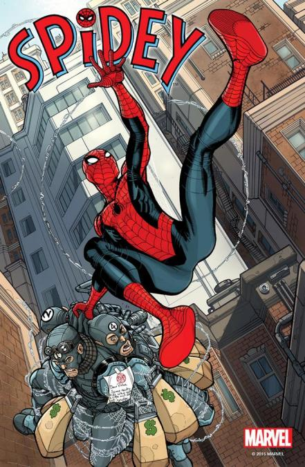 First Look at Upcoming Spidey #1 - 2015-10-29 13:21:50