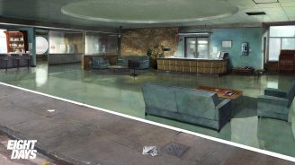 Concept Art for Cancelled PS3 Title Eight Days Unveiled - 2015-11-30 09:56:00