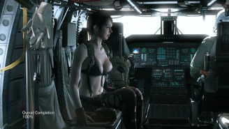 Newest Metal Gear Solid V Patch Allows Players to Reunite with Quiet - 2015-11-10 09:11:29