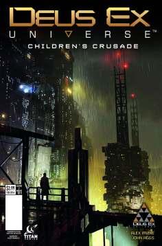 New Deus Ex Issue #1 Cover Variants Unveiled - 2015-12-01 11:59:59