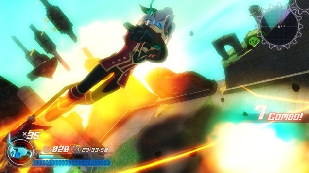 Rodea the Sky Soldier (Wii U) Review 2