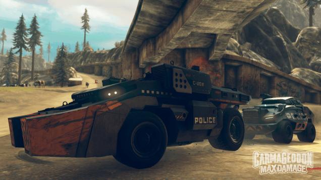 Carmageddon: Max Damage Coming to the Consoles 2