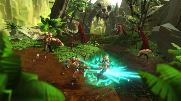 Feral Rites is a Colourful Tribal Beat 'Em Up 3