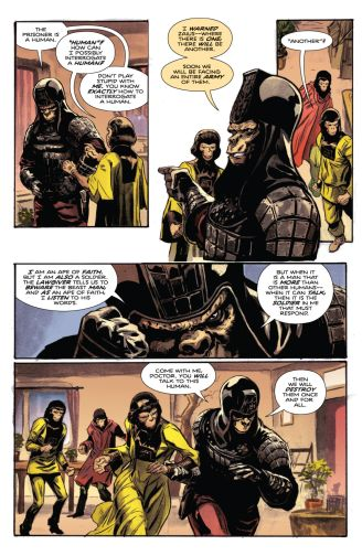 Tarzan on the Planet of the Apes Comic Review 3