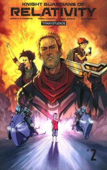 Knight Guardians of Relativity #1-3 Review 2