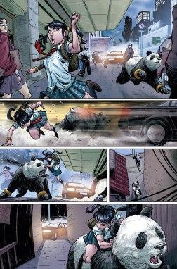Tekken Issue #1 Receives an Extended Art Preview 3