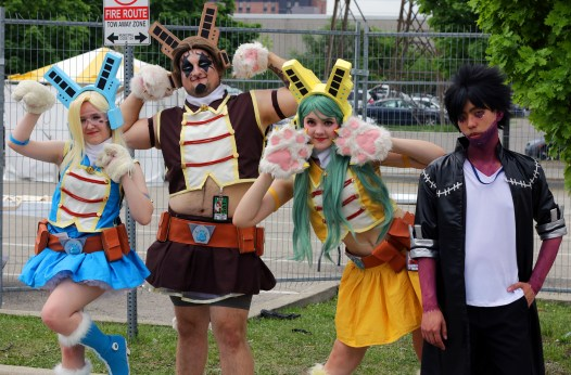 The Cosplay of Anime North 2018 2