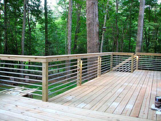 Inspiring deck railing ideas plexiglass - materials - designs - styles - building tips