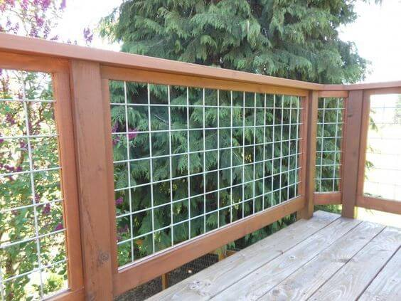 Easy deck railing ideas photos that mix looks and function