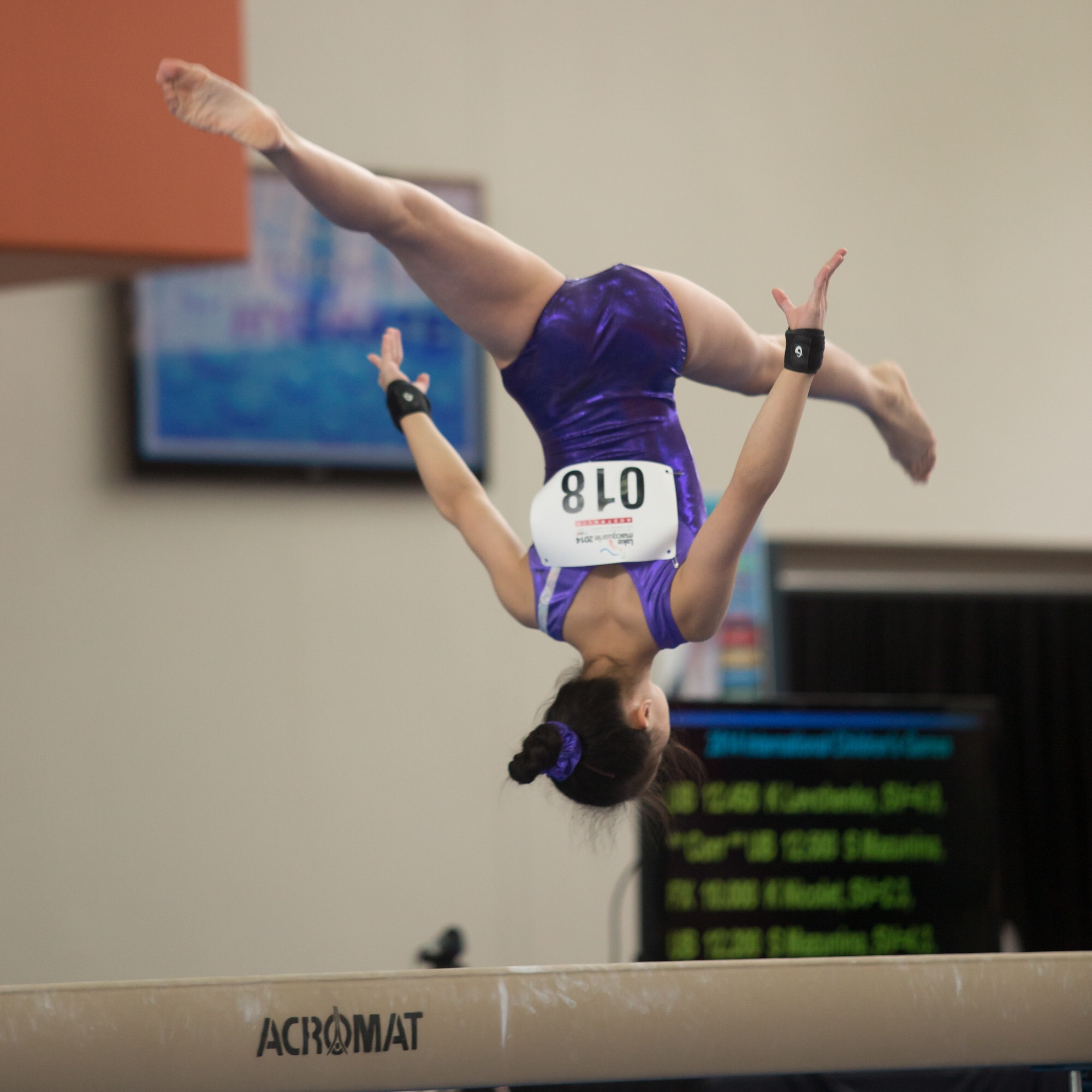Level 9 Beam - Back Layout Step-out