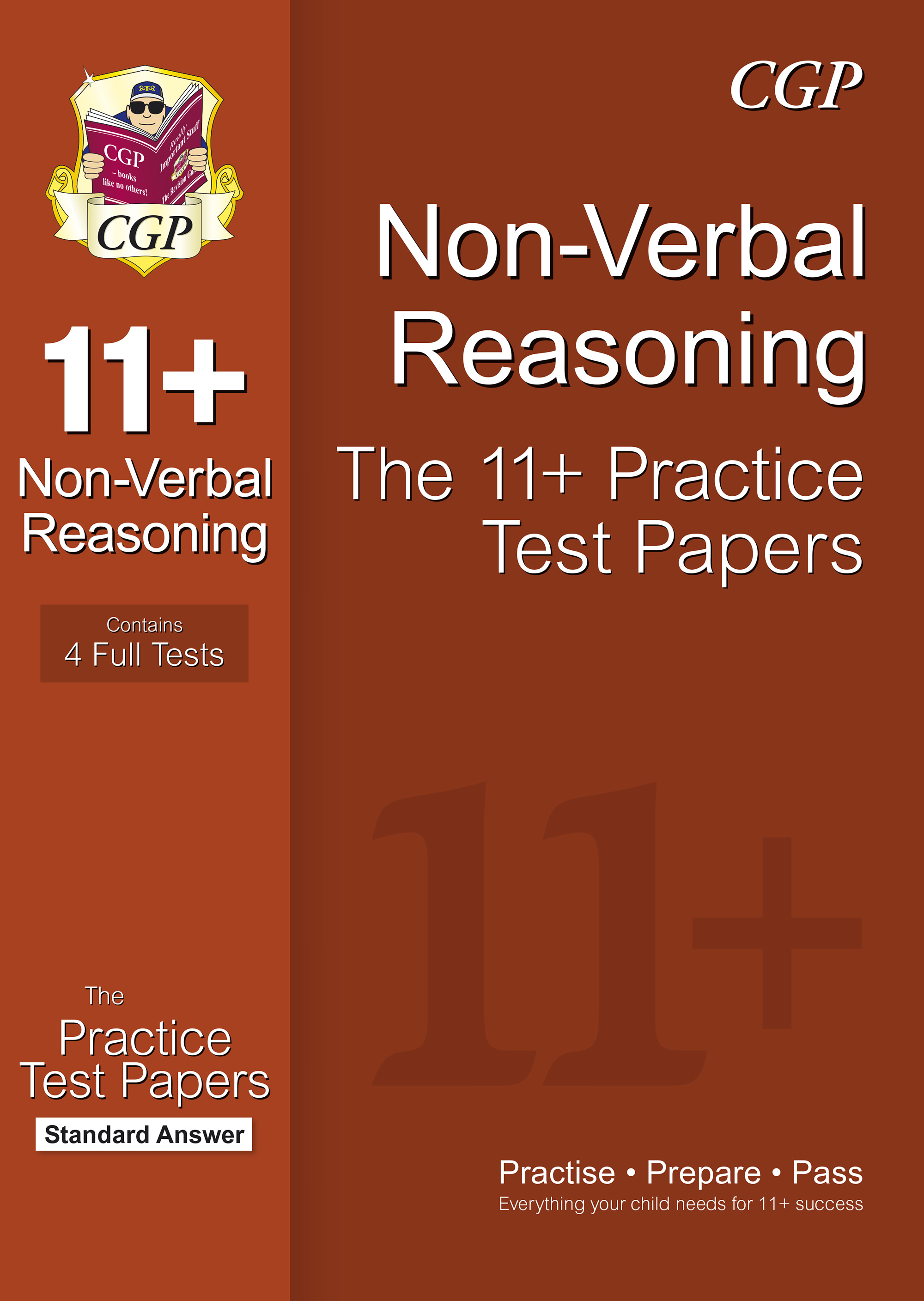 11 Non Verbal Reasoning Practice Papers Standard Answers