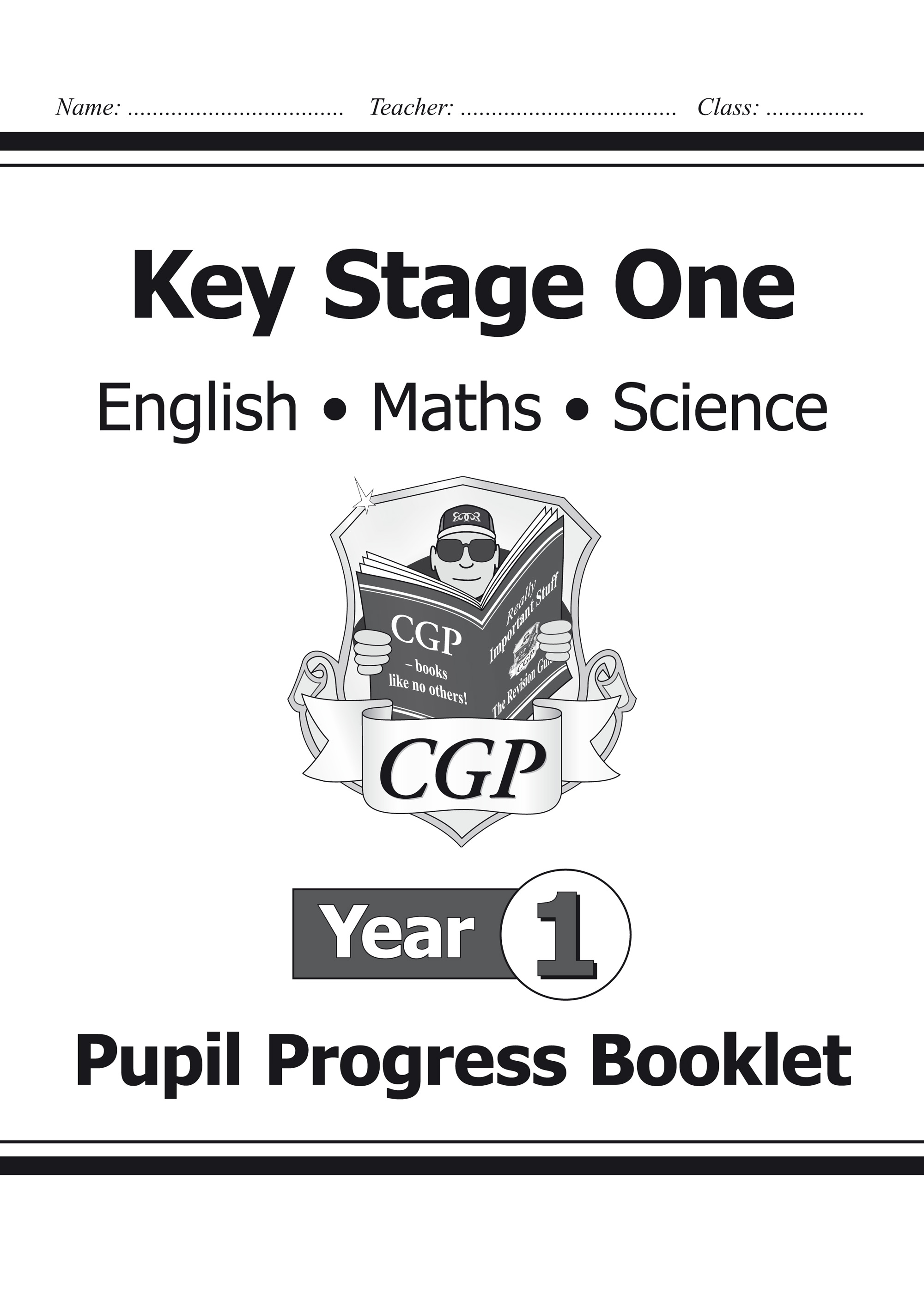KS1 Pupil Progress Booklet for English, Maths and Science