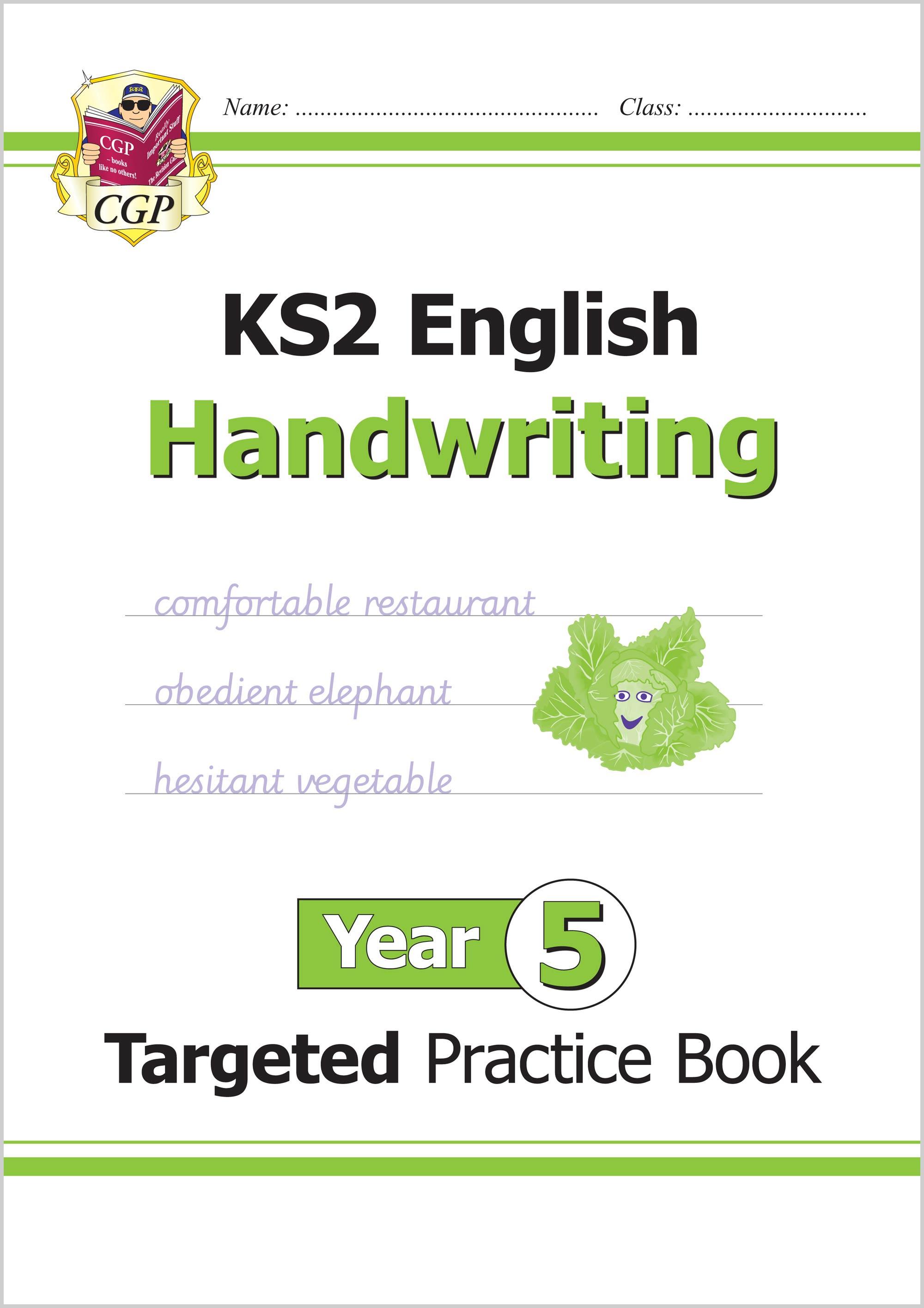 New Ks2 English Targeted Practice Book Handwriting